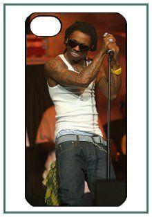 Lil Wayne iPhone 4 iPhone4 Black Designer Hard Case Cover