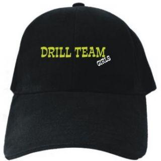 Drill Team GIRLS Black Baseball Cap Unisex Clothing