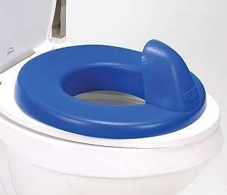 New Elongated Soft Padded Toilet Seat White
