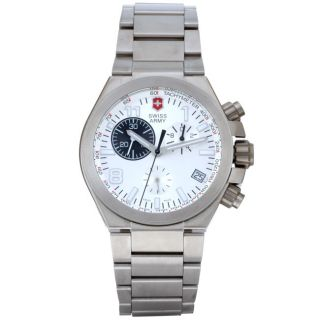 Swiss Army Mens Convoy Chronograph Titanium Watch