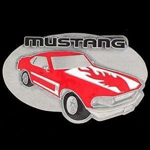 Ford Pewter Belt Buckle   Ford Mustang Buckle Sports