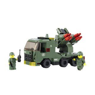 Army Lego Compatible Surface To Air Launcher   227 Pcs Toys & Games