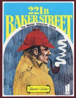 221b Baker Street   The Master Detective Game: Toys