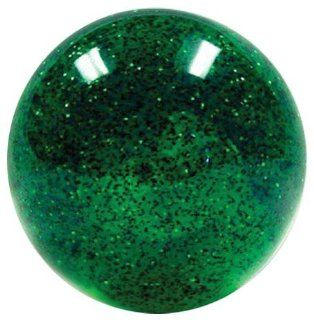 American Shifter 228 Old Skool Green Sparkle Shift Knob with Metal