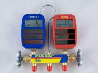 Yellow Jacke 41612 Series 41 Manifold w/ Solar Gauges