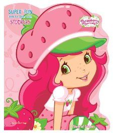 Strawberry Shortcake Super Fun Book to Color with Stickers and