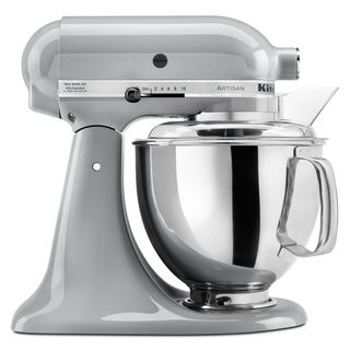 KitchenAid KSM150PSMC Metallic Chrome 5 quart Artisan Tilt Head Stand