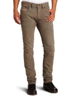 Diesel Mens Thavar Skinny Straight Leg Jean Clothing