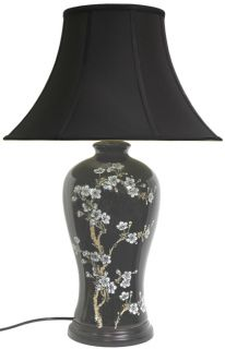 29 inch Flower Blossom Vase Lamp (China)