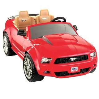 Fisher Price Power Wheels Mustang