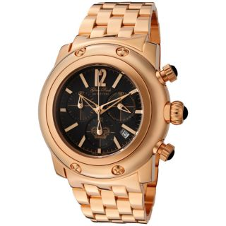 Glam Rock Womens Miami Rose Goldtone Ion plated Stainless Steel