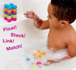 Munchkin 15 Color Connectors Bath Toys