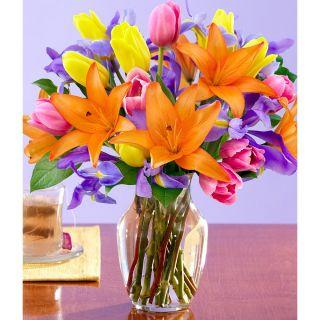 Mothers Day Preorder) Spring Awakenings with Large Vase
