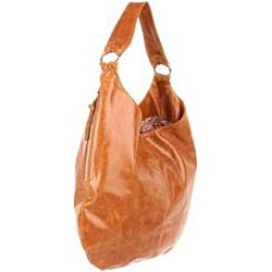 Hobo International Gabor Caramel Leather Hobo Bag