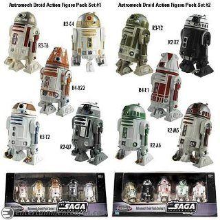 Star Wars Astromech Droids Complete Set Toys & Games