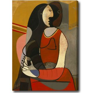 Pablo Picasso Seated Woman Oversized Oil on Canvas Art