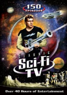 Classic Sci Fi TV  150 Episodes (DVD)