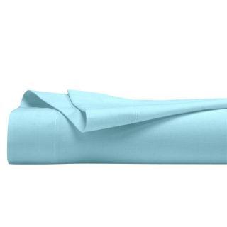 Drap plat Bio Turquoise 180 x 290 cm. Couleurs naturelles pour ce drap