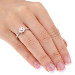 14k Gold 1/2ct TDW Brown Diamond Engagement Ring (H I J, I1 I2