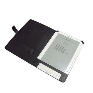 Kindle DX Leather Case Black