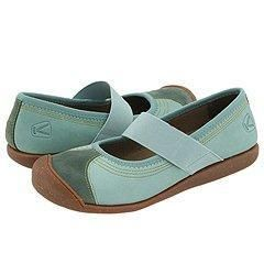 Keen Sienna Mary Jane Mineral Blue Flats   Size 5