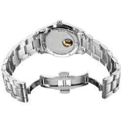 Frederique Constant Mens Junior Automatic Stainless Steel Watch
