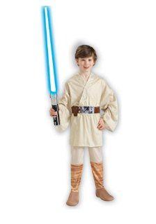 Kids Star Wars Luke Skywalker Costume   Child Large: Toys