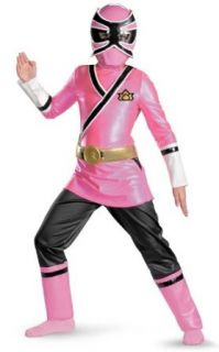 Deluxe Pink Power Ranger Samurai Costume Clothing