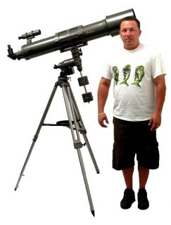 Galileo 1200 mm x 152 mm (4 ft. by 6 in. Dia.) Refractor Telescope