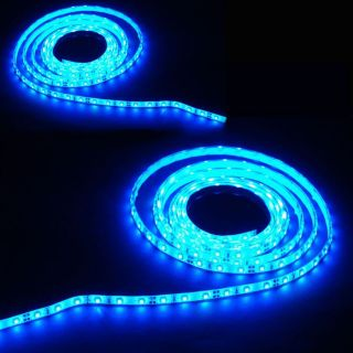 GUIRLANDE LUMINEUSE 2 Strips Led POLAROID PVC bleus 3m Waterproof
