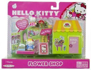 Hello Kitty World Playset   Flower Shop Toys & Games