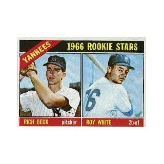 1966 Topps #234 Rookie Stars/Rich Beck RC/Roy White RC