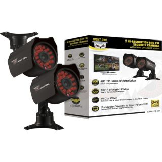 Night Owl CAM 2PK 624 Surveillance/Network Camera   Color Today $98