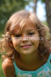 Pretty little girl  Stock Photo © Petro Oliynyk #1281123