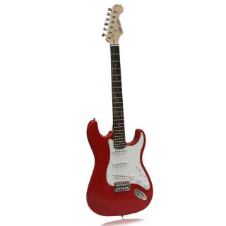SVP dr. Tech MSJ R1 Distressed Tele Design Red/ White Electric Guitar