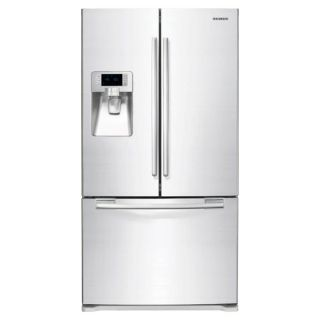 Samsung White 29 cu ft French Door Refrigerator