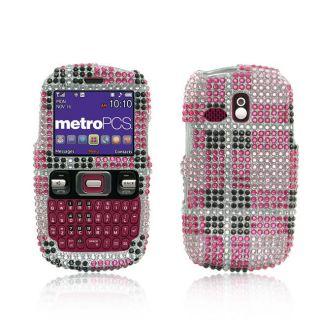 Premium Samsung Freeform R350 Pink Big Checker Protector Case
