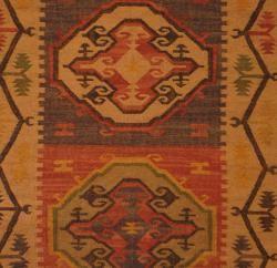 Indo Tribal Kilim Flat Weave Rug (4 x 6)