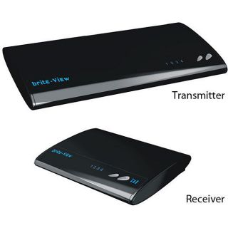 Brite View BV 2500 HD Wireless Video Transmitter/ Receiver Set