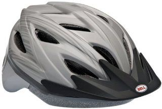 Bell Adrenaline Bike Helmet (Silver Steel) Sports