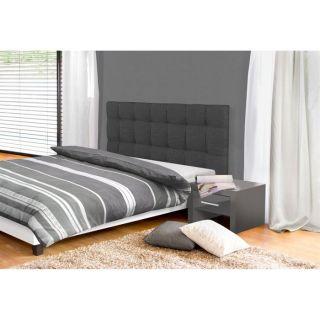 Tête de lit DREAM 174 cm gris foncé   Achat / Vente TETE DE LIT