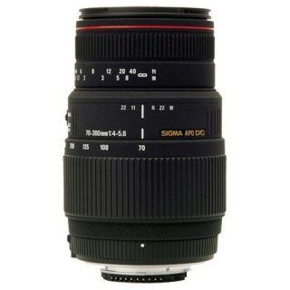 OBJECTIF REFLEX  FLASH SIGMA Zoom 70 300mm F4 5,6 DG APO Macro pour
