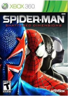 XBox 360   Spider Man Shattered Dimensions (Pre Played)