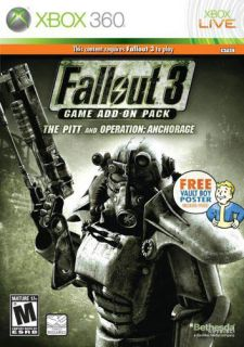 XBox 360   Fallout 3 Exp Pak Anchora (Pre Played)
