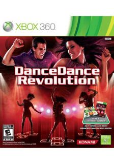Xbox 360   Dance Dance Revolution Bundle   By Konami
