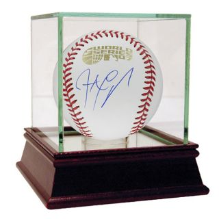 Jonathan Papelbon 2007 World Series Autographed Baseball