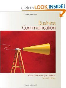 Business Communication: A.C. Buddy Krizan, Patricia Merrier, Joyce P