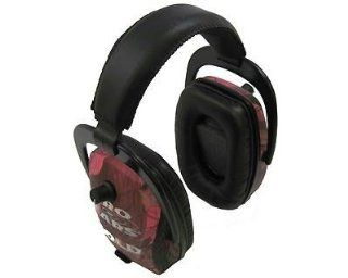 Pro Ears Pink Camo Pro Slim Gold Hearing Protection and