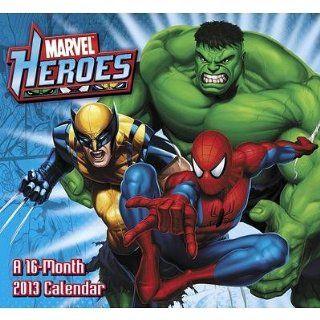 (11x12) Marvel Heroes   2013 Wall Calendar