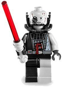 LEGO Star Wars LOOSE Mini Figure Battle Damaged Darth